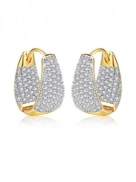 Pretty Cubic Zirconia Earrings