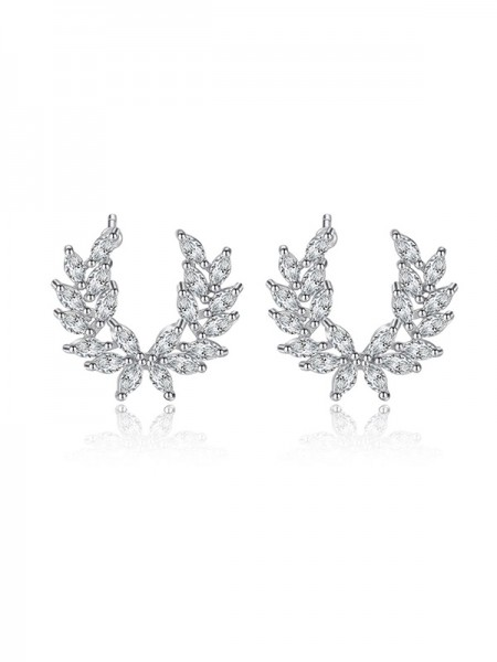 Korean Attractive Cubic Zirconia Earrings