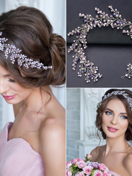 Very Elegant Crystal Headpieces
