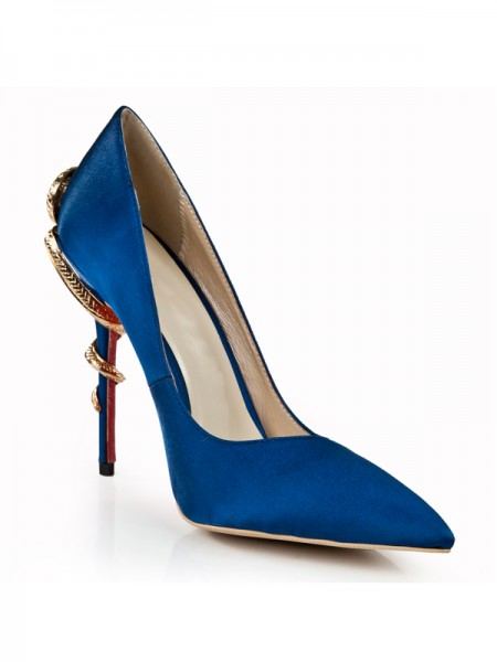 Royal Blue High Heels S5LSDN1282LF