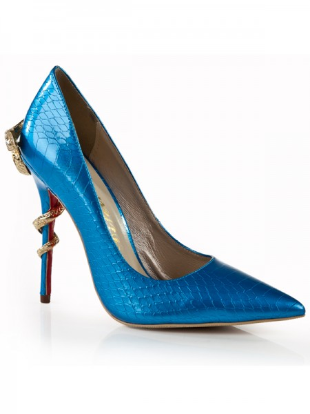 Royal Blue High Heels S5LSDN1284LF