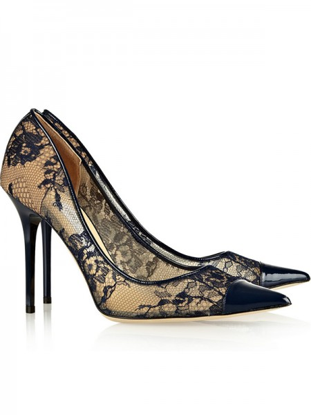 Net Satin High Heels S5MA0498LF
