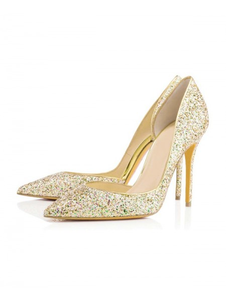 With Sequin High Heels SLSDN1422LF