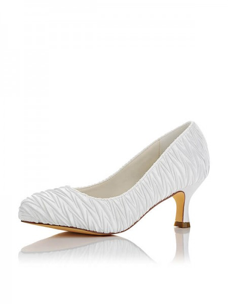 Fashion Satin Wedding Shoes SW01403111G1I