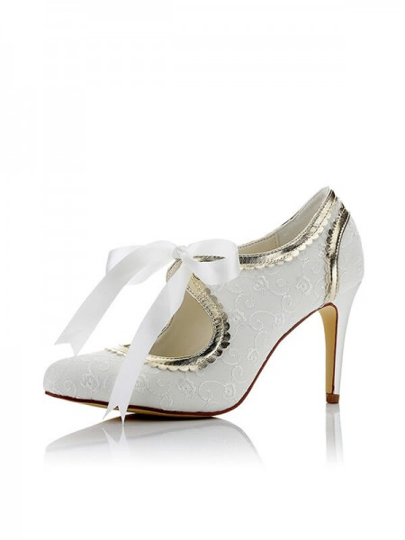 Chic Satin Wedding Shoes SW0167971I